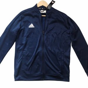 Adidas Men's Blue Full Zip Climalite Jacket New